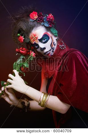 Santa Muerte.