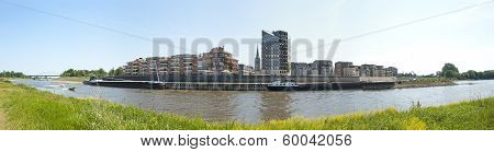 Panoramic View Of The City Doesburg, The Netherlands