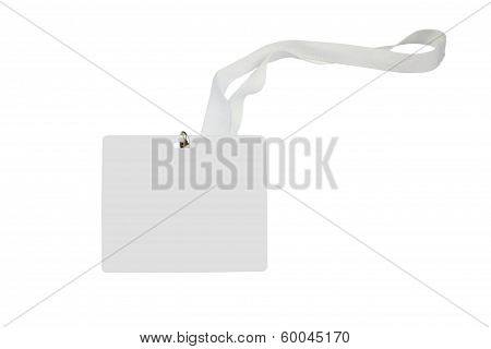 Blank Pass Card