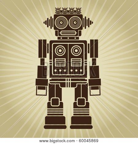 Retro Vintage Robot