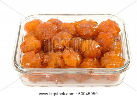 Vietnamese Sweetened Kumquat, Traditional Snack During Lunar New Year, Tet