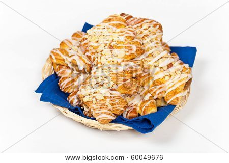 Almond Bear Claws Pastry