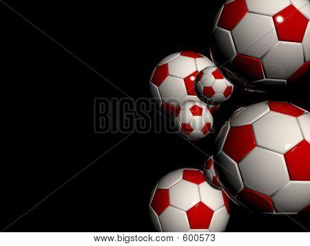 Black Footballs