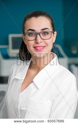 Female Doctor in Lab