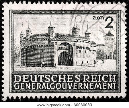 Barbakan Stamp