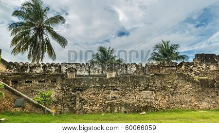 The old castle in Zanzibar