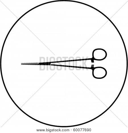 forceps symbol