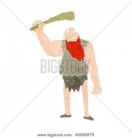 cartoon neanderthal