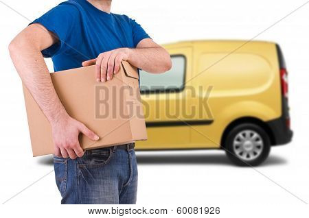 Delivery man.