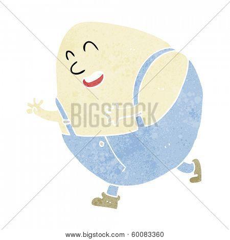 cartoon humpty egg character