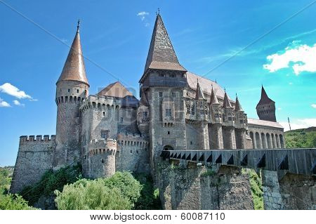 The Corvin Castle In Transylvania