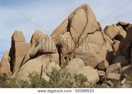 Joshua Tree National Park Rocky Landscape