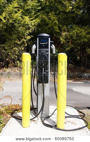 Recharging Point For Electric Vehicles