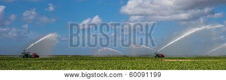 Irrigation Farm Land