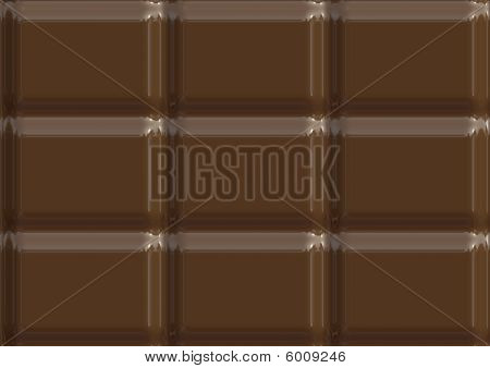 Milk Chocolate Texture Illustration