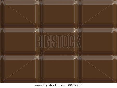 Milk Chocolate Texture Illustration