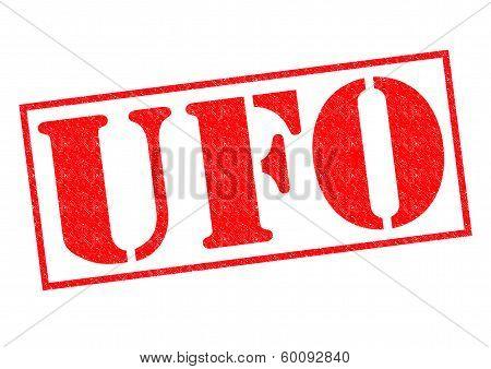 Ufo Rubber Stamp