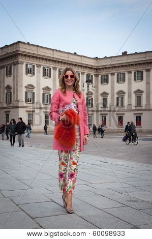 Outside The Fashion Shows Buildings For Milan Women's Fashion Week 2014