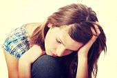 foto of lost love  - Teenage girl depression  - JPG