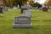 picture of tombstone  - Cemetery - JPG