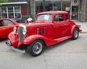 1933 Red Chevy Couple