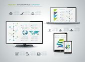 Modern Infographic Or Webdesign Concept