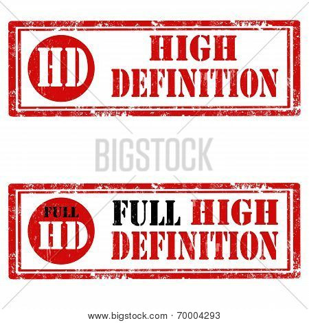 High Definition-stamps