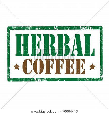 Herbal Coffee-stamp