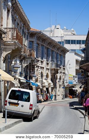 Street in Limassol