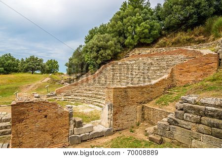 Odeon Theater Of Apollonia.