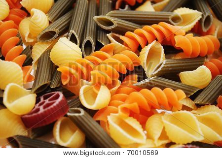 Gourmet Pasta Shapes Made With Organic Vegetables
