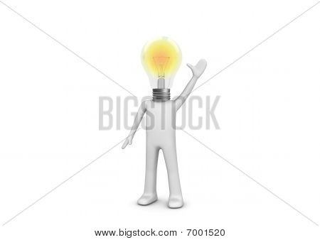 I Have An Idea - Lampy Man