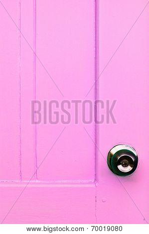 Door Color And Door Knobs