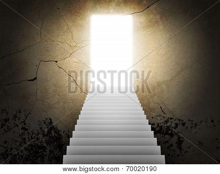 Stairs and magic doors