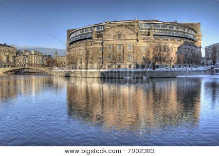Swedish Parliament Building.