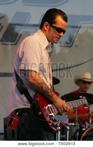 Greg Camp of Smash Mouth performing at Celebrate Fairfax, Fairfax,Va, 2007