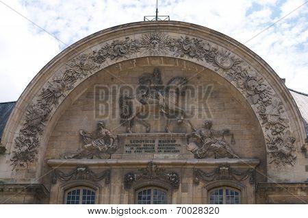 Bas-relief  At Paris