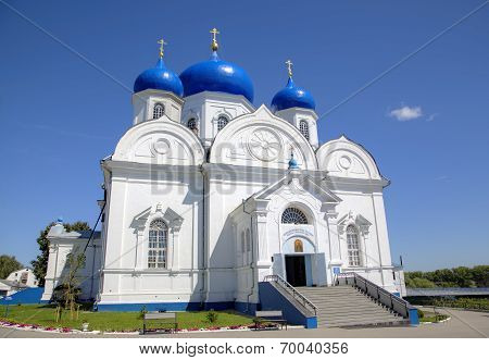 Cathedral of Holy Bogolyubovo Monastery. Vladimir region, Golden Ring of Russia
