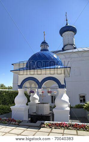 Chapel in Holy Bogolyubovo Monastery. Vladimir region, Golden Ring of Russia