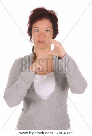 Hand Demonstrating,