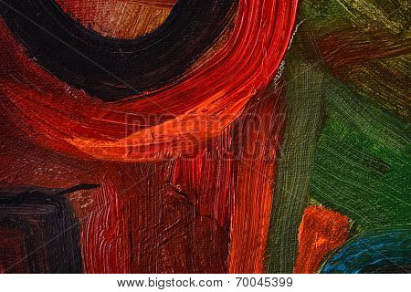 very Large scale Original Oil painting on Canvas