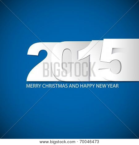 Original Vector New Year 2015 card / illustration with place for your text