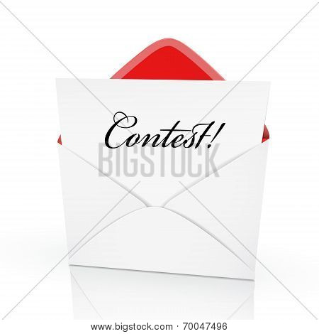 The Word Contest On A Card