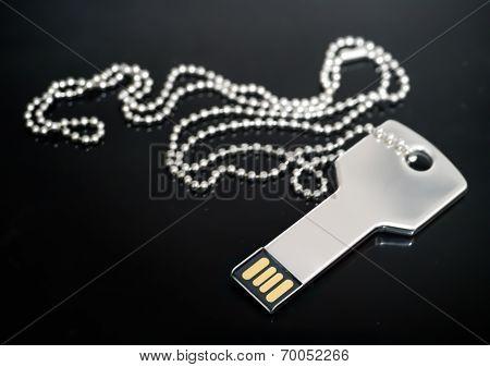Key Shaped Usb Drive