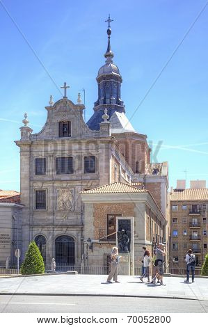 Madrid. Sacramento Church Of Santa Maria