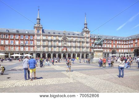 Madrid. Plaza Mayor.