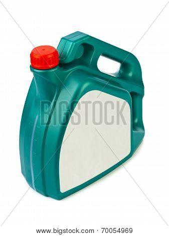 Plastic Canister For Motor Oil