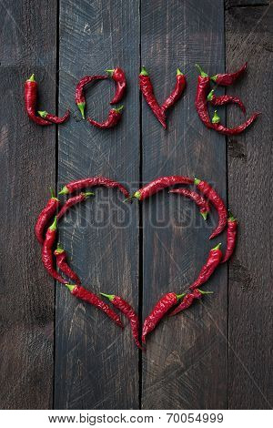 Red Chili Pepper Love