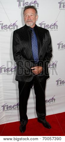 NEW YORK-DEC 6: Comedian Robin Williams attends the Face of Tisch Gala at Frederick P. Rose Hall, Jazz at Lincoln Center on December 6, 2010 in New York City.
