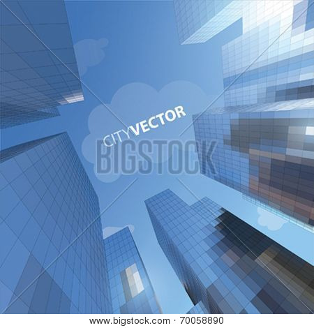 VECTOR SKYSCRAPER
